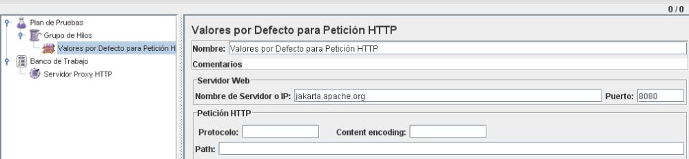 Ejemplo de como quedaria para probar contra la pagina de JMeter