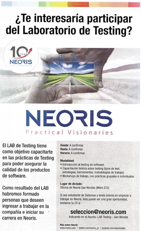 Neoris Lab de Testing